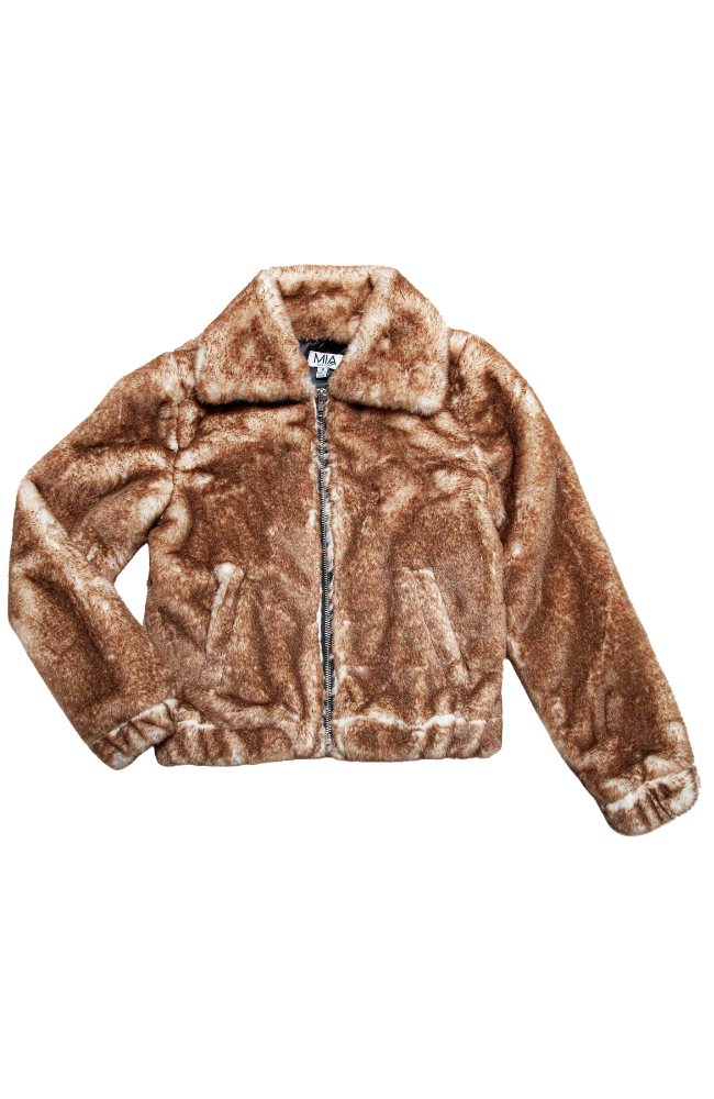 Teddy Faux Fur Jacket