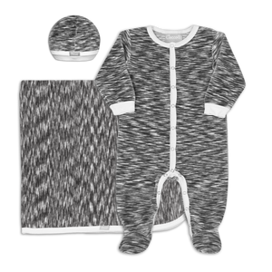 Velour Layette Set