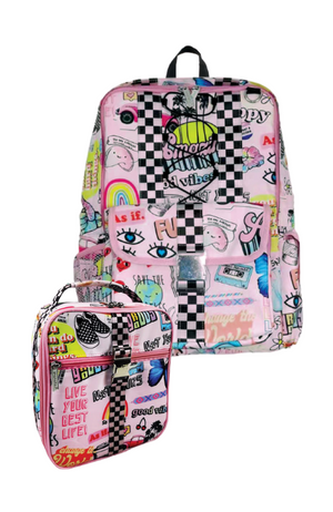 Patches Backpack & Lunch Tote