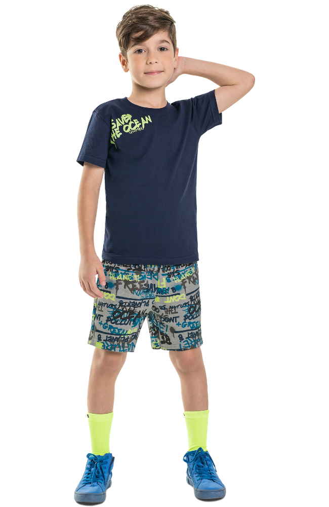 Save the Ocean Tee & Shorts