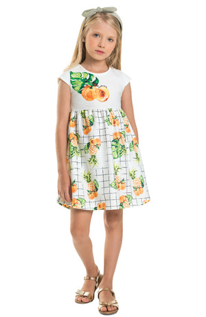 Pineapple/Peach Dress