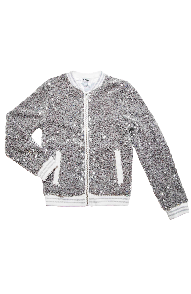 Crystal Sequin Jacket