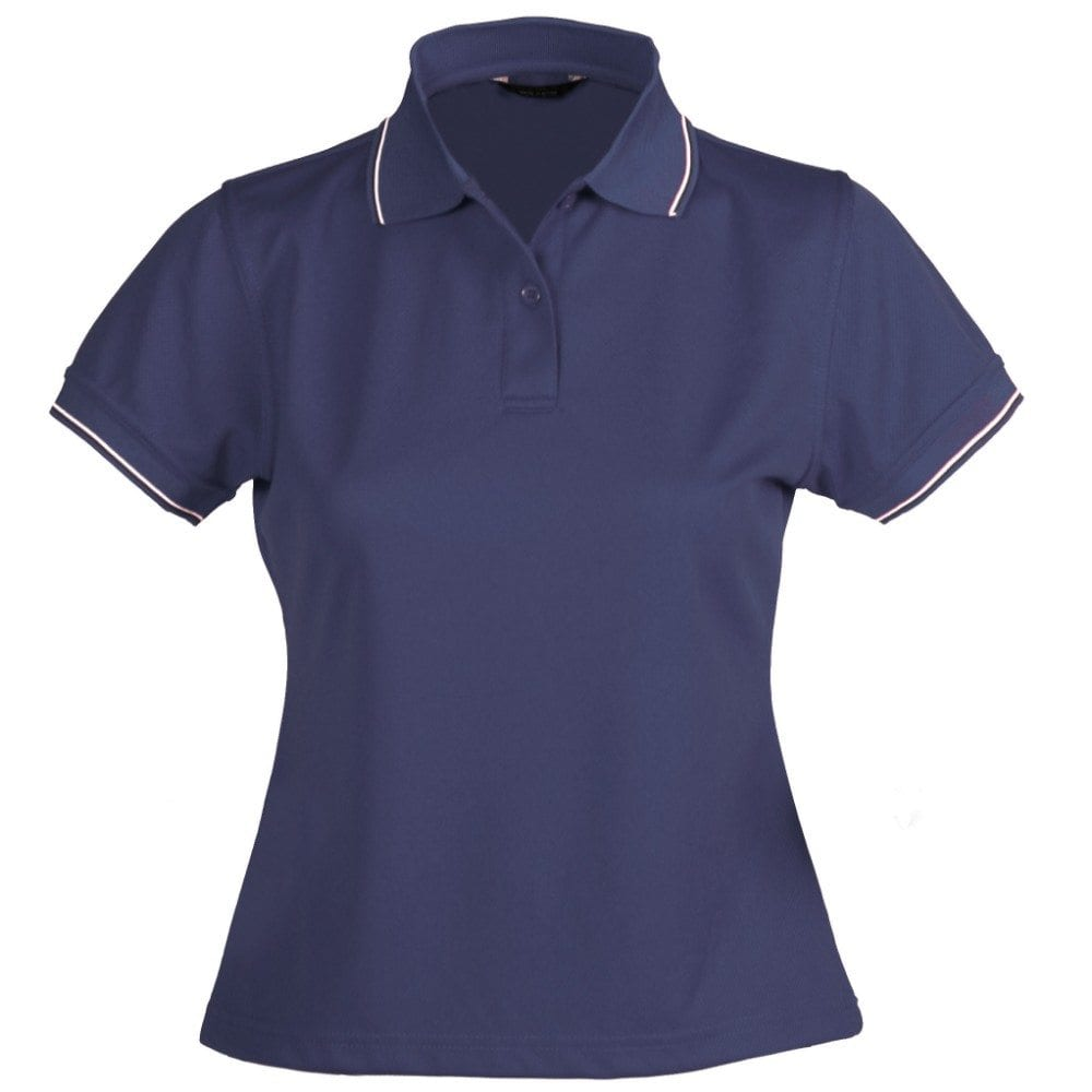 1110D LIGHTWEIGHT COOL DRY POLO - LADIES
