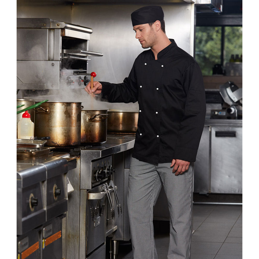 [CJ01] Chef's Jacket Long Sleeve