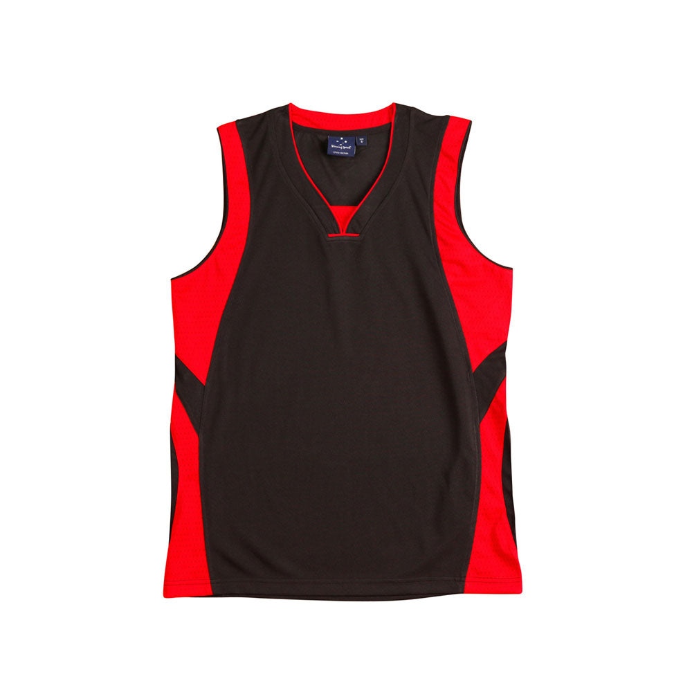 [TS83K] Kid's Basketball Singlet