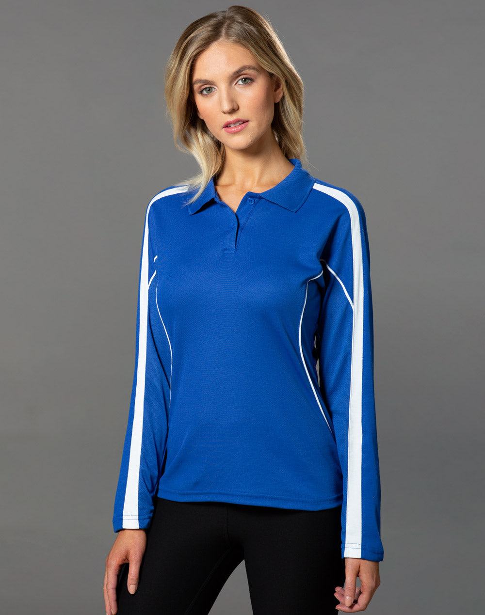 [PS70] Ladies' TrueDry Long Sleeve Polo