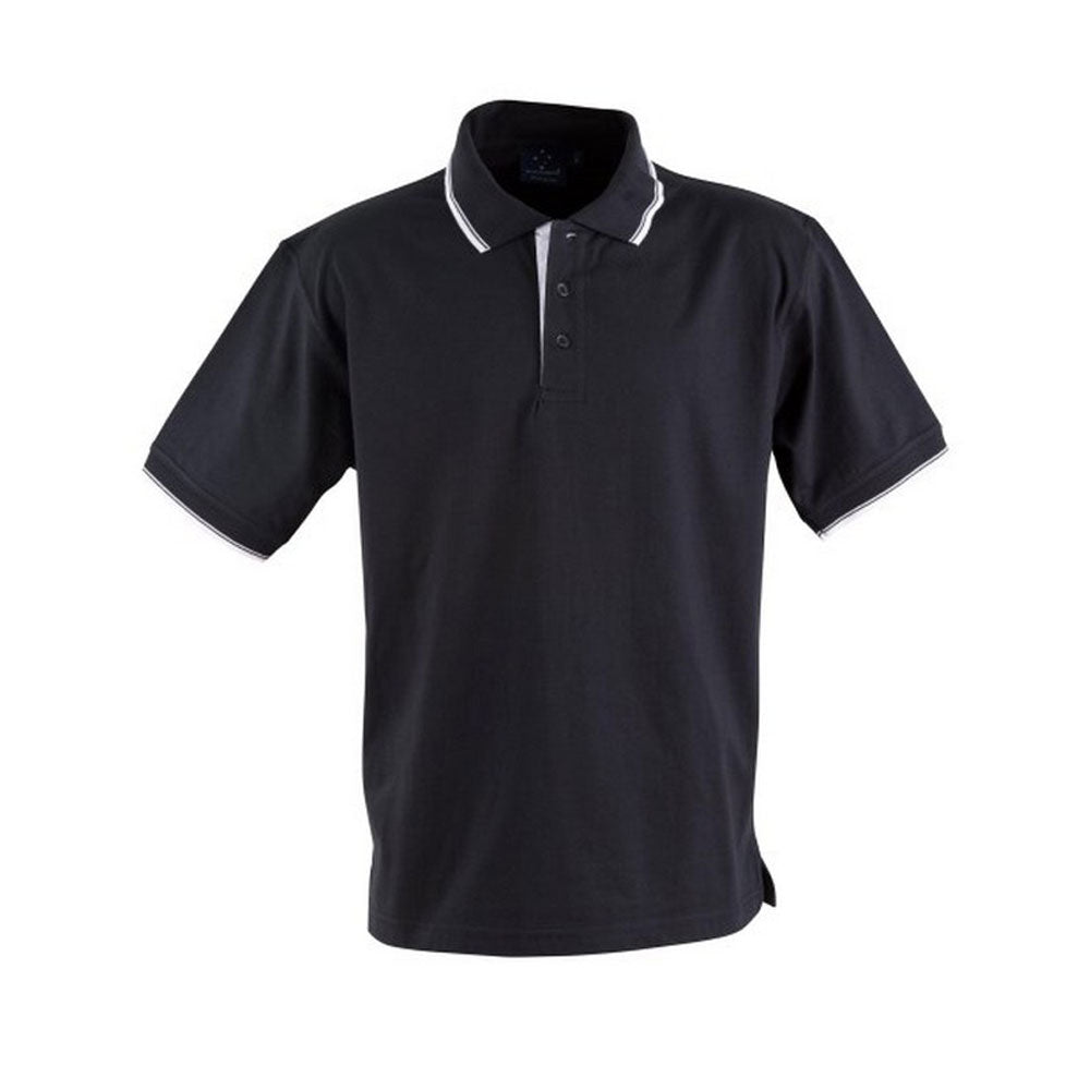 [PS05] unisex cotton jersey polo