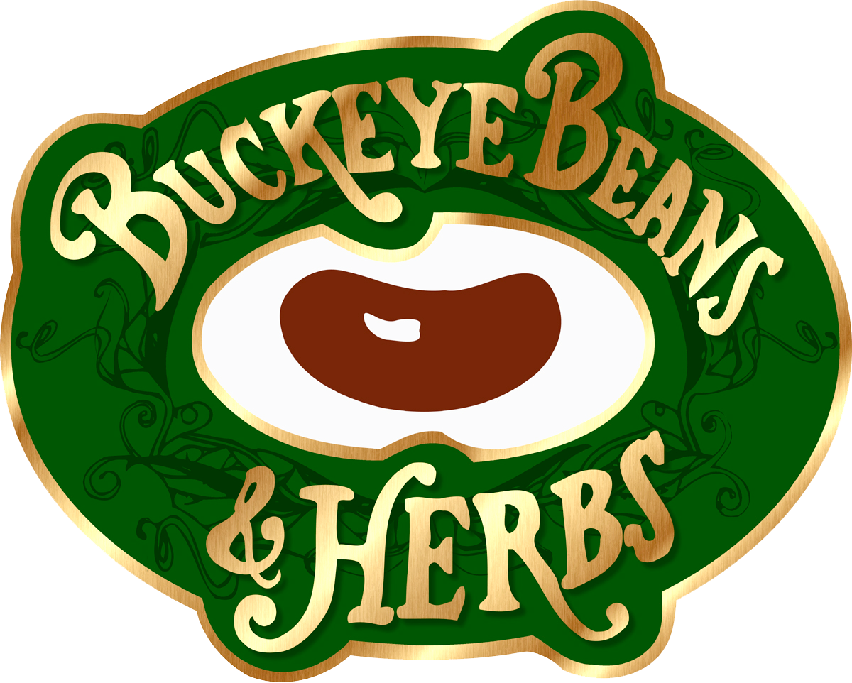 Buckeye Beans and Herbs Golden Logo