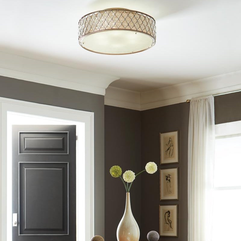 Lucia Large Semi-Flush Mount