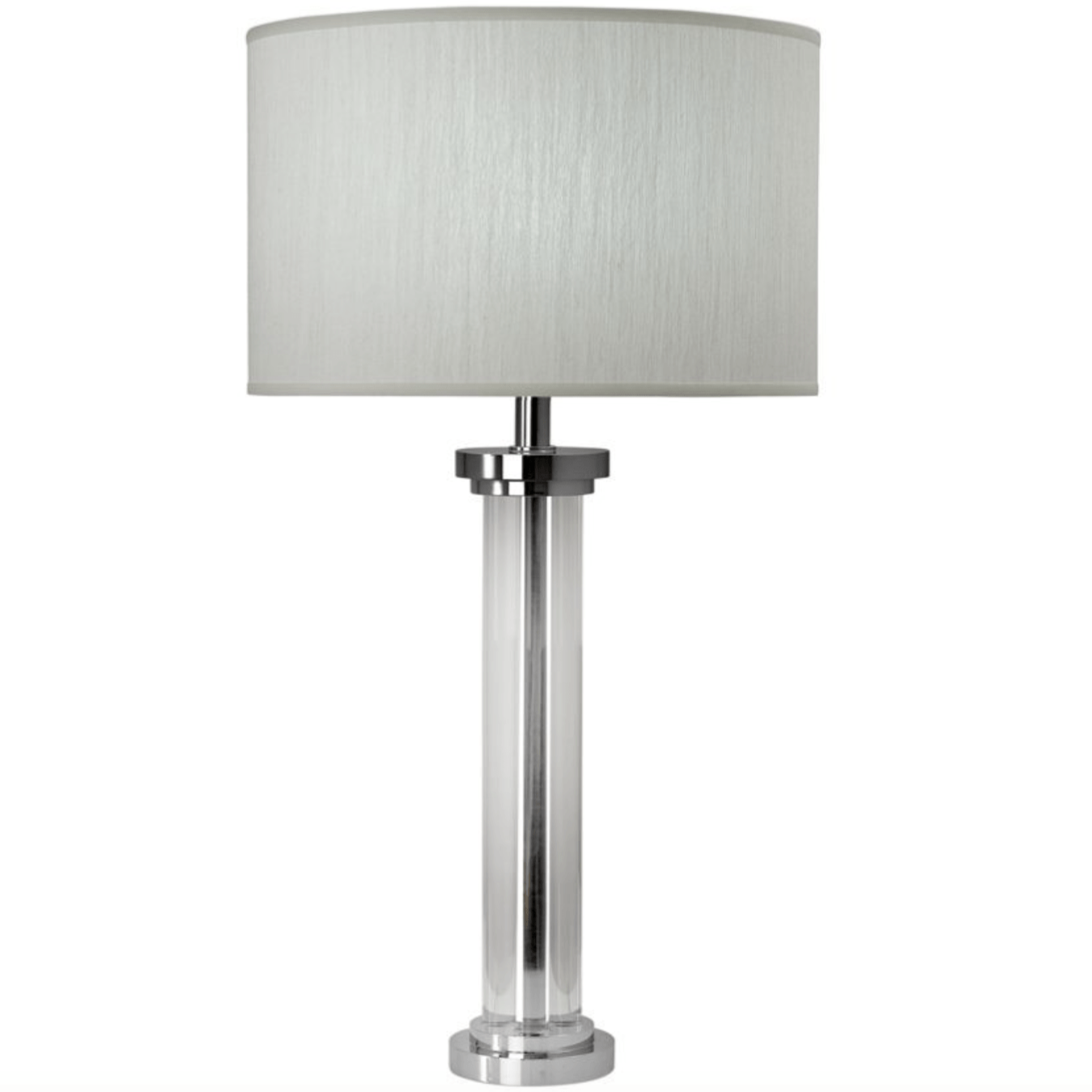 Acrylic Cylinder Shaped Table Lamp