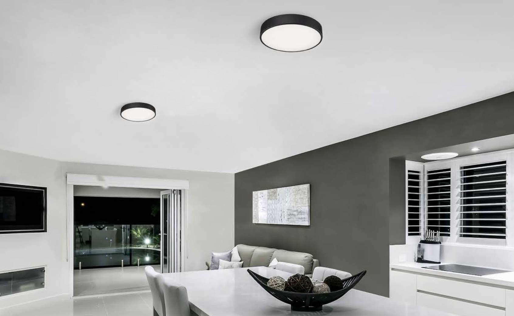 Oysters & Battens Akira Ceiling Light Home Lighting Consultants Sydney