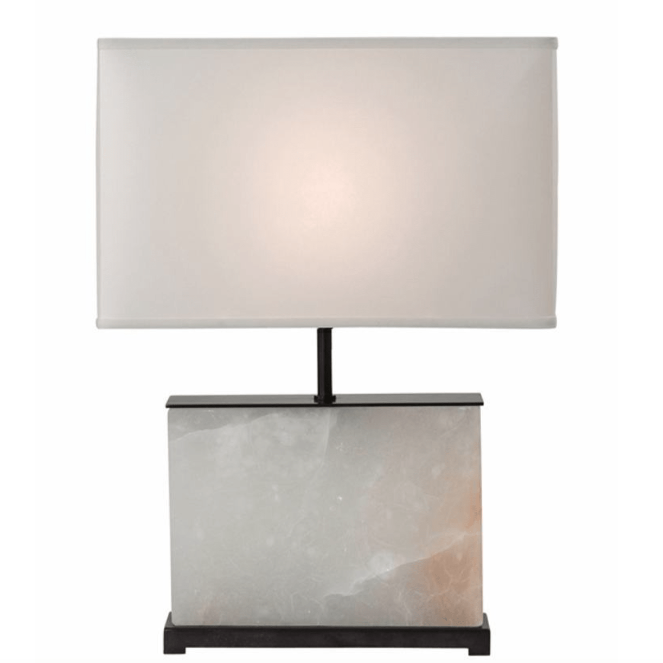 Alabaster & Bronze Table Lamp