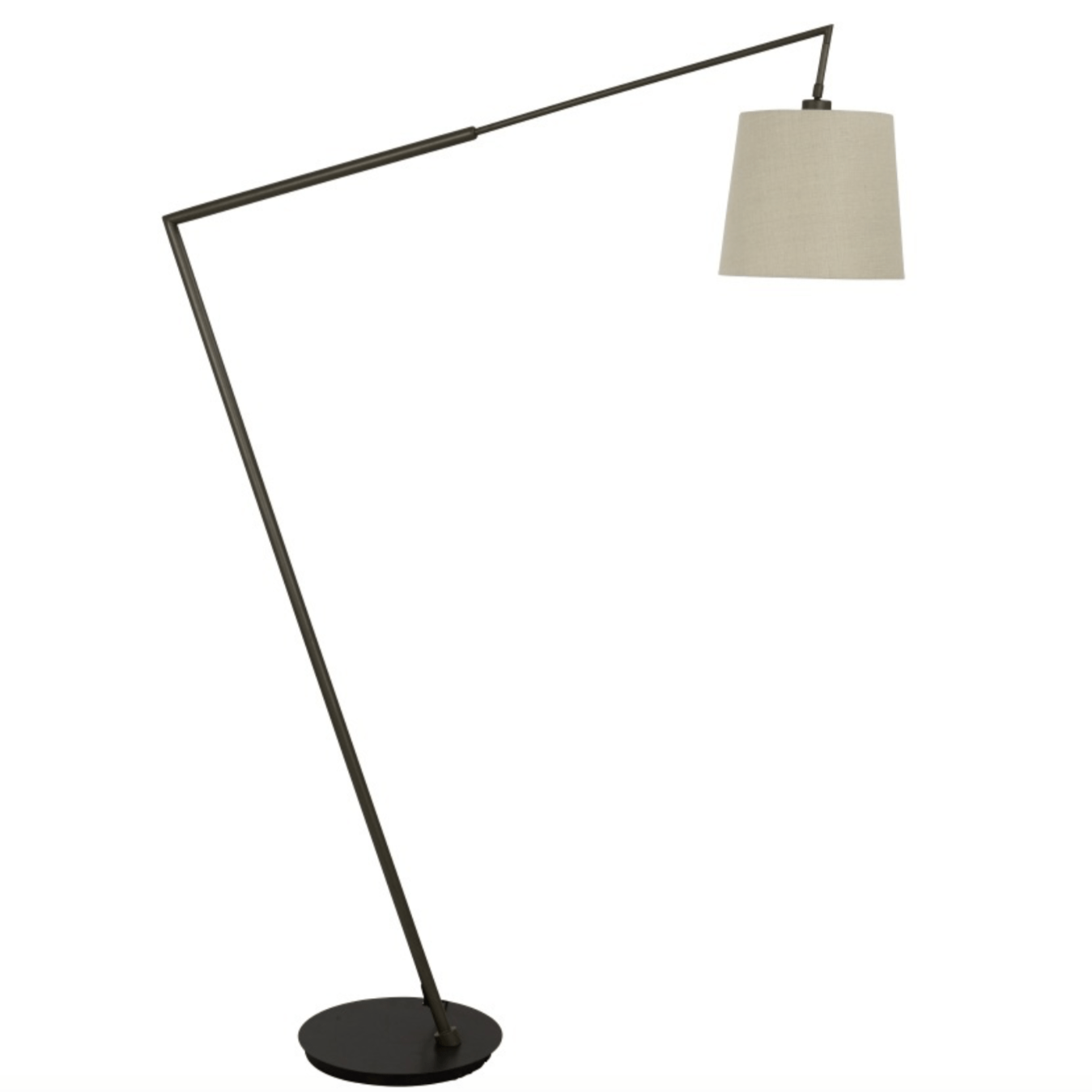 Angle Bronze Look Floor Lamp
