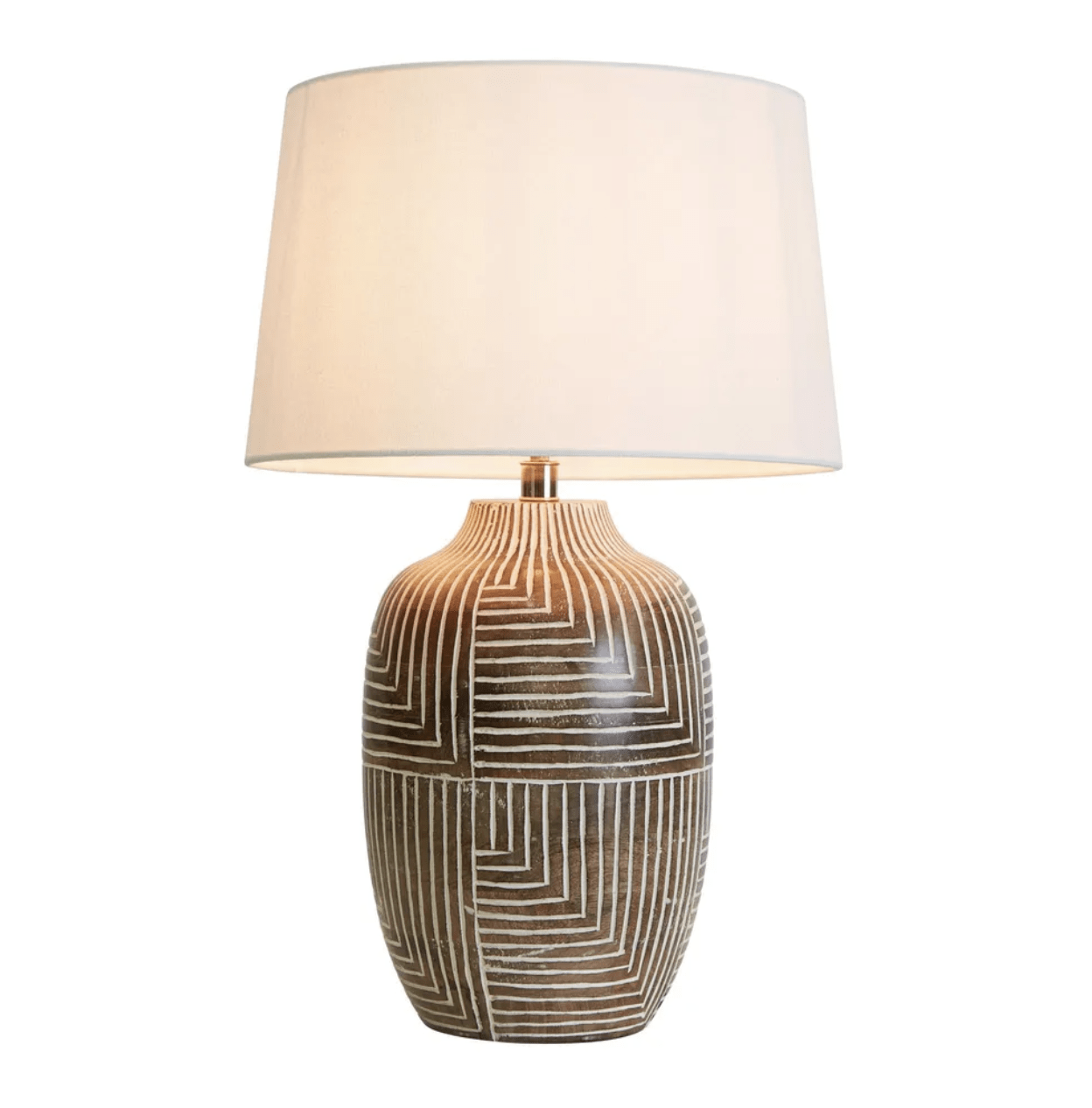 Table Lamps Avoca Wooden Table Lamp