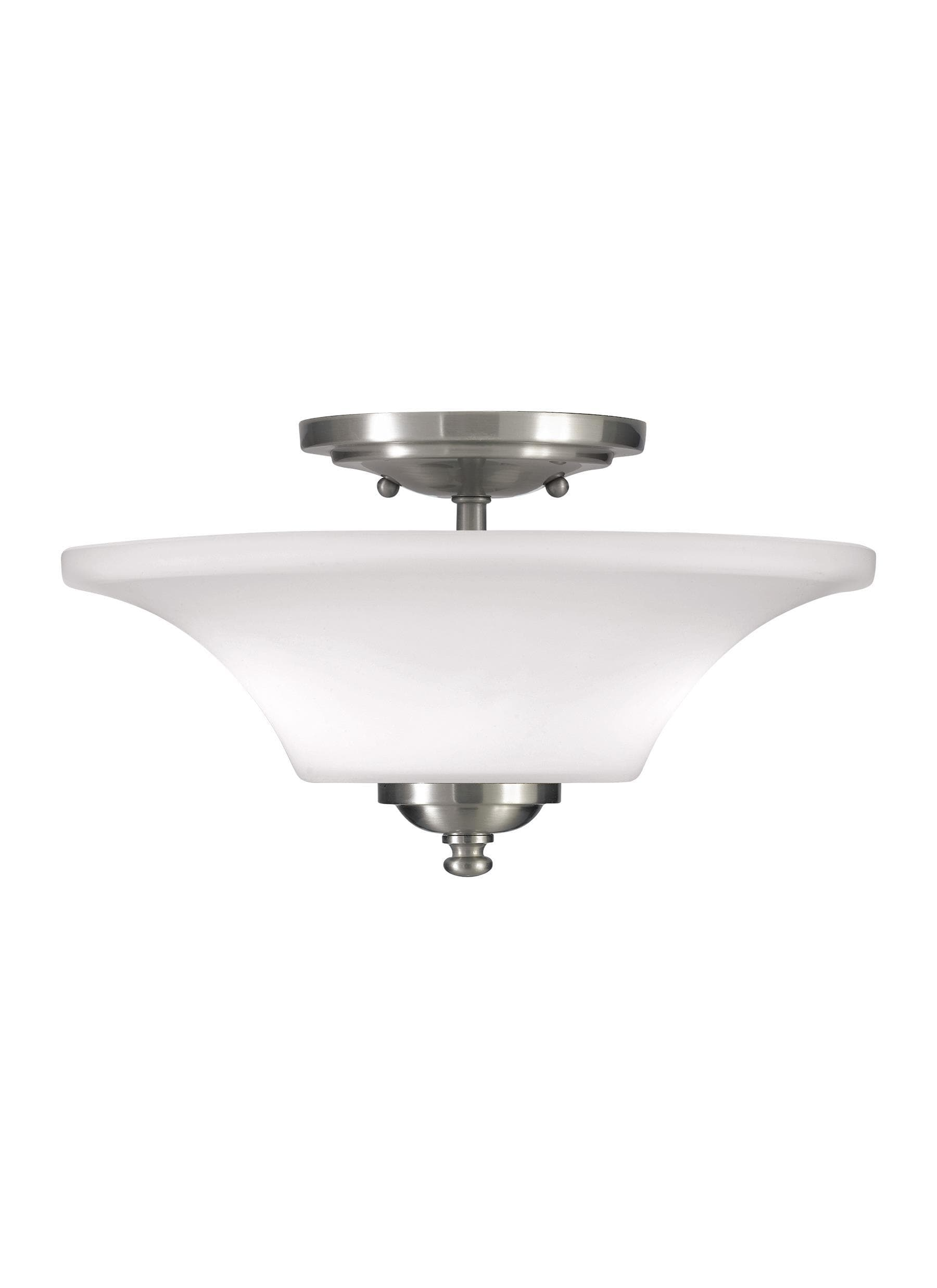 Interior Flush & Semi Flush Barrington Two Light Semi-Flush Mount