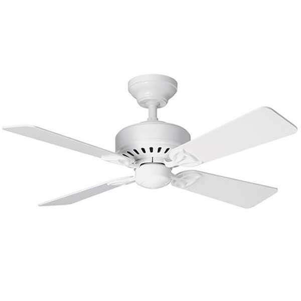 Indoor Fans Bayport Ceiling Fan - White Lighting Shops