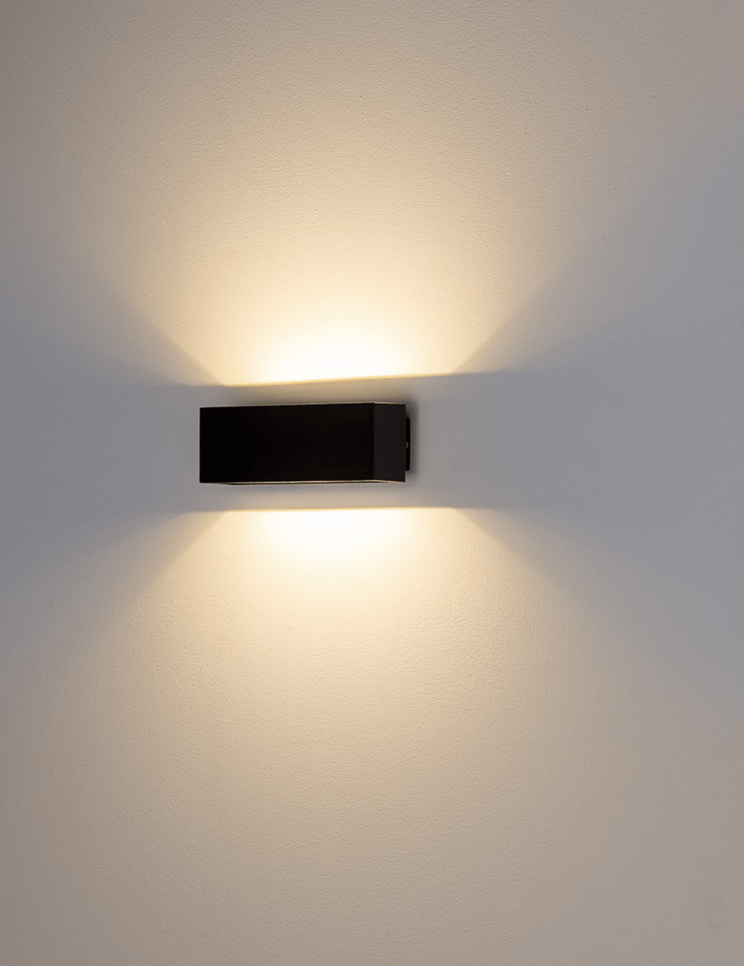Exterior Wall Light BLOKK - Up / Down Wall Lighting Stores
