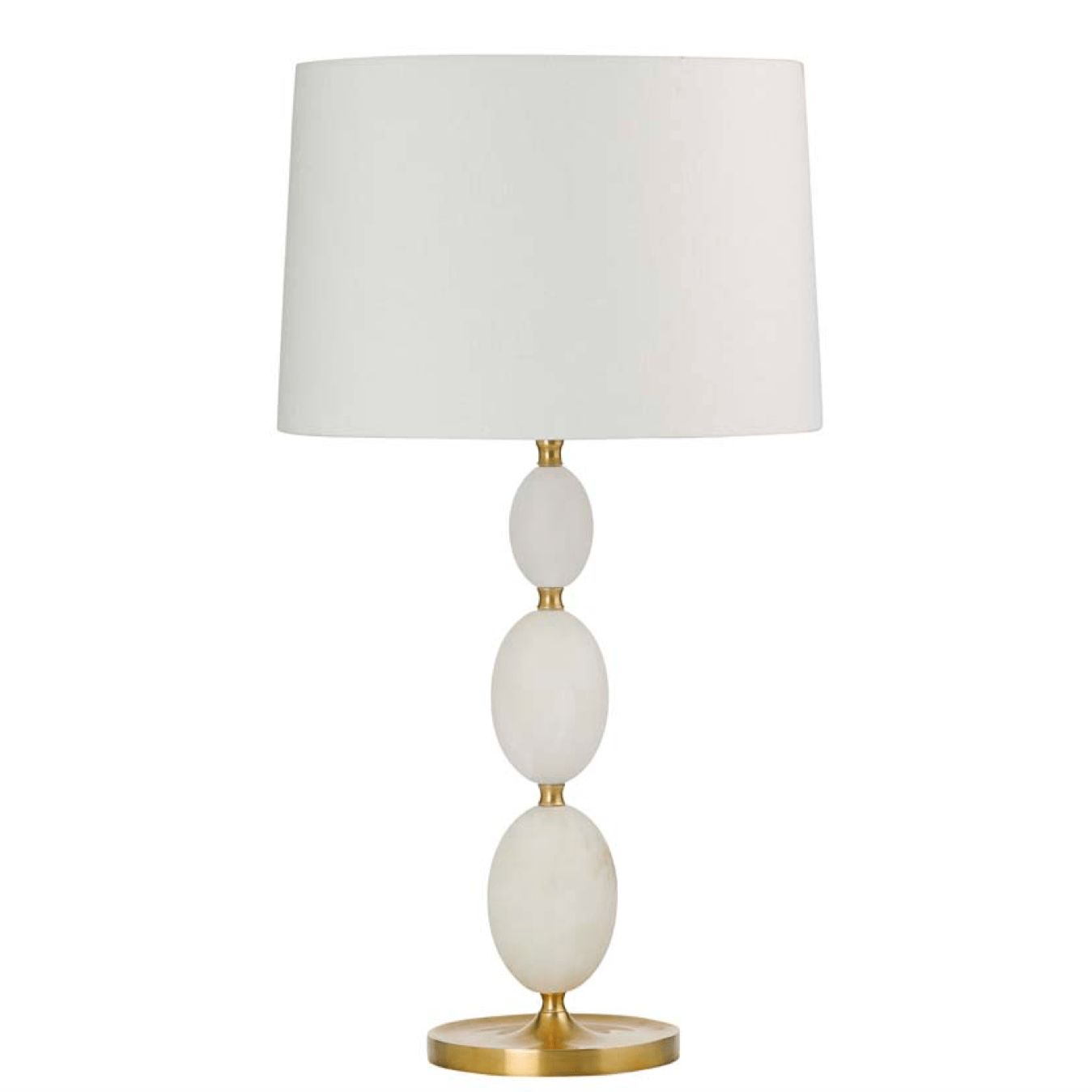 Brass & Alabaster Bobble Table Lamp lighting shops lighting stores LED lights  lighting designer