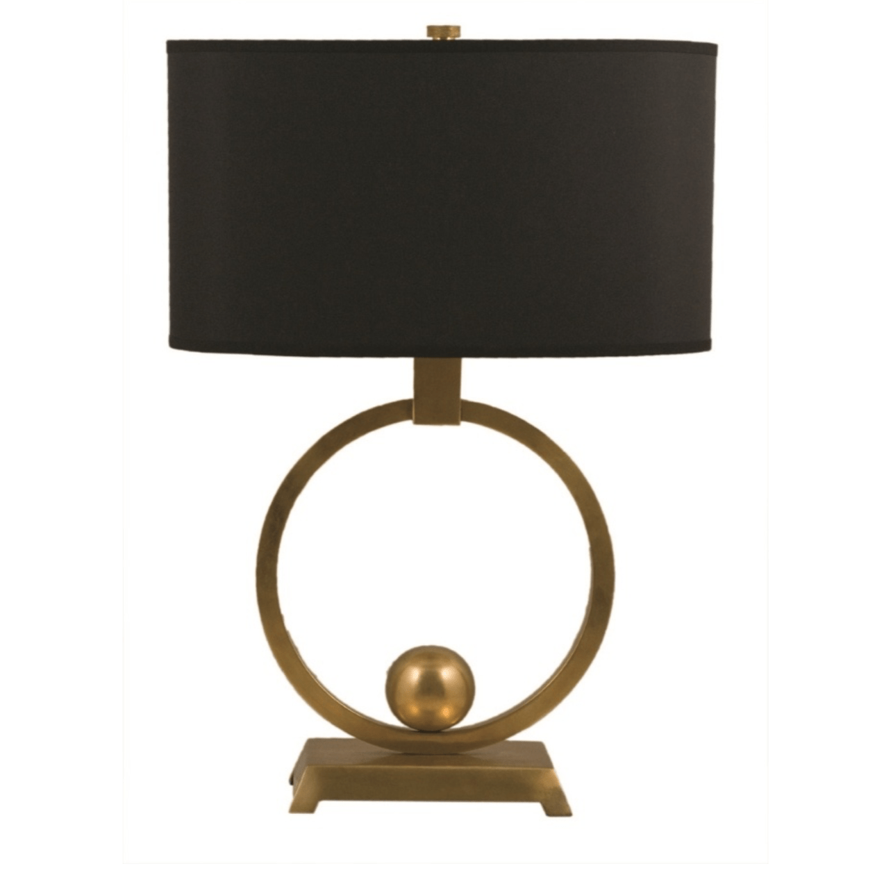 Brass Circle Table Lamp lighting shops lighting stores LED lights  lighting designer
