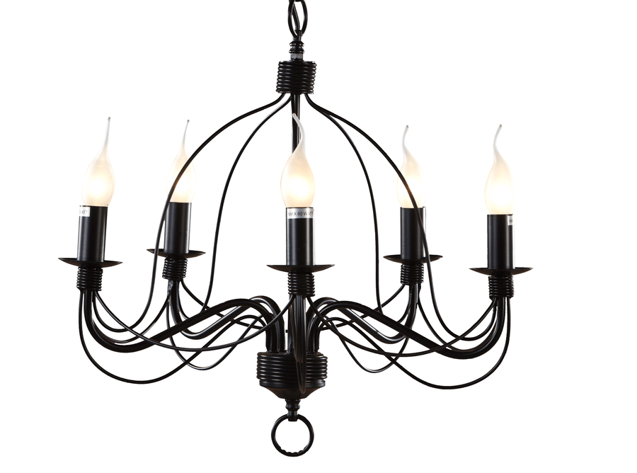 Interior Pendant Candice 5 Light Chandelier