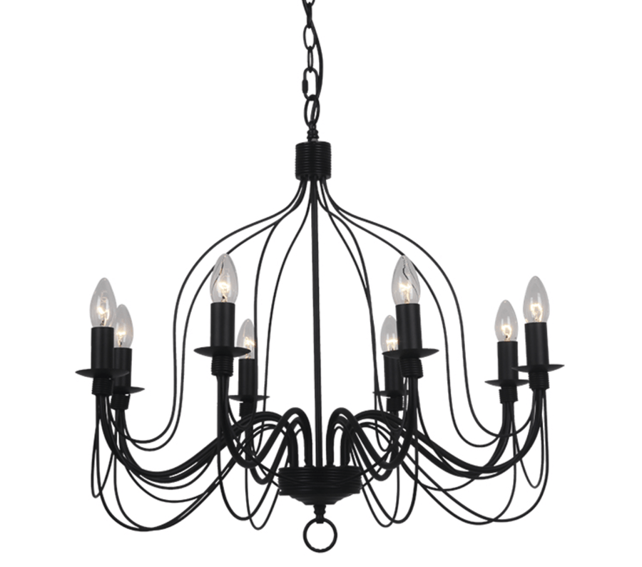 Interior Pendant Candice 8 Light Chandelier lighting shops lighting stores LED lights  lighting designer