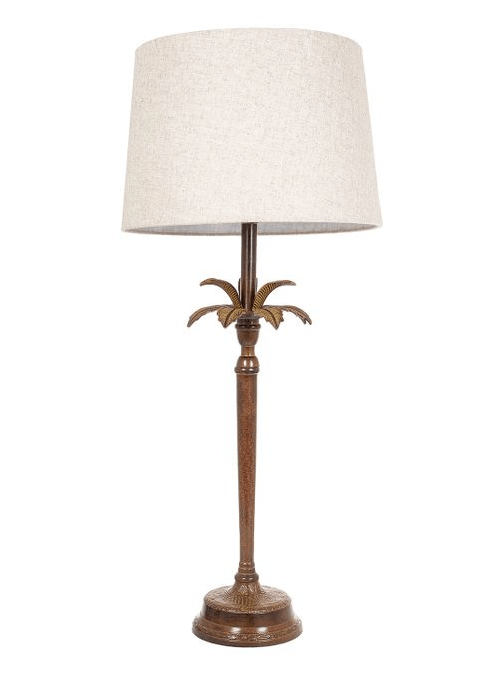 Casablanca Palm Tree Table Lamp lighting shops lighting stores LED lights  lighting designer