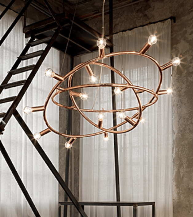 Interior Pendant Cosmo SP15 Copper Pendant lighting shops lighting stores LED lights  lighting designer