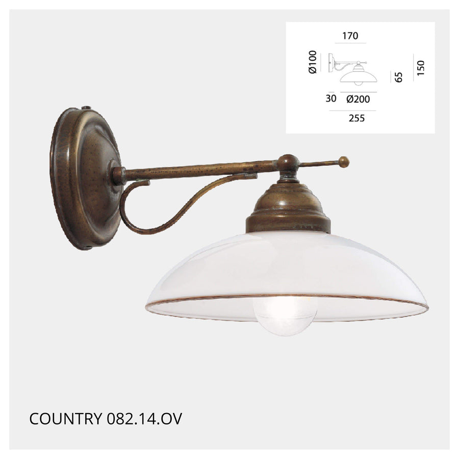 Interior Wall Light / Sconce Country Wall Light