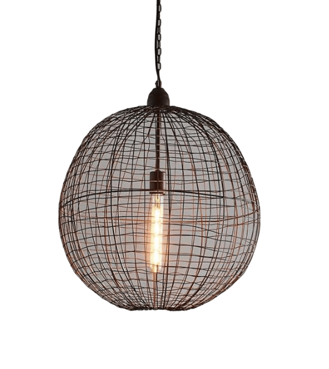 Interior Pendant Cray Ball Pendant - Medium