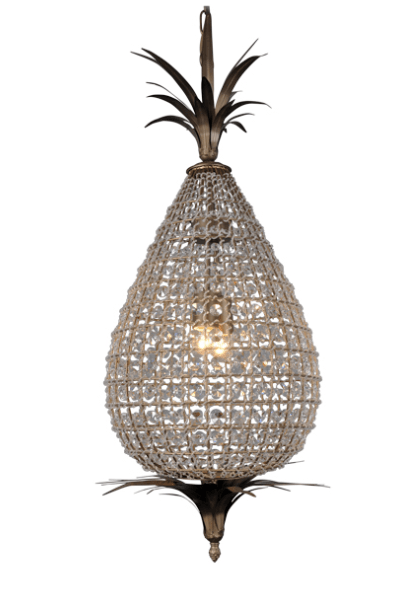 Interior Pendant Crystal Pineapple Chandelier
