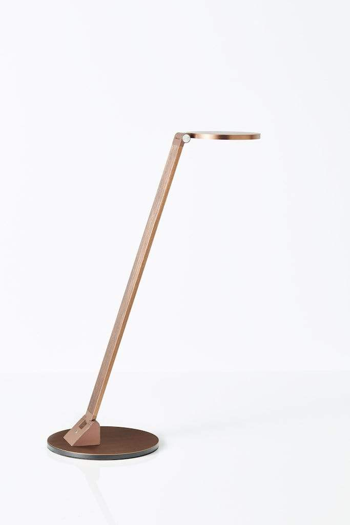 Task Lighting Darlinghurst LED Desk Lamp Gold Coffee