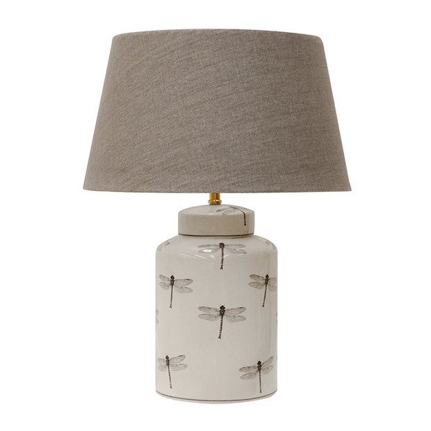 Table Lamps Dragonfly Cylinder Lamp