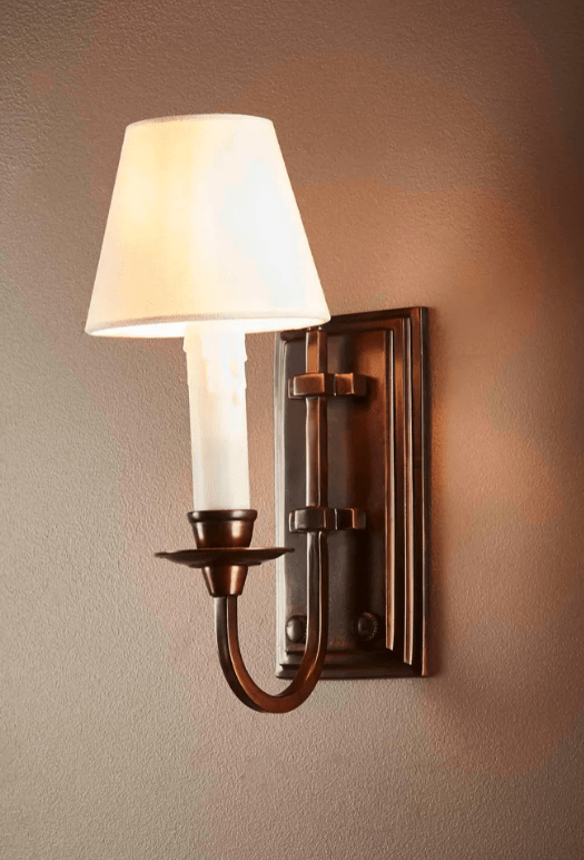 Interior Wall Light / Sconce East Borne Wall Light - Florentine Bronze