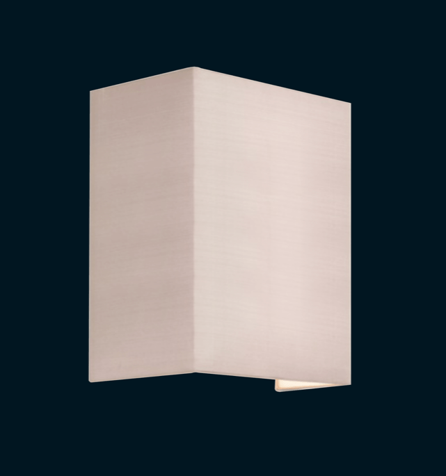 Fabric Wall Light - Square Set lighting shops lighting stores LED lights  lighting designer