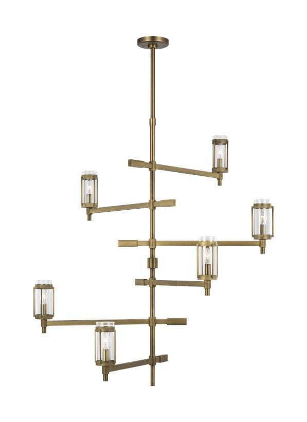 Interior Pendant Flynn Tall Chandelier