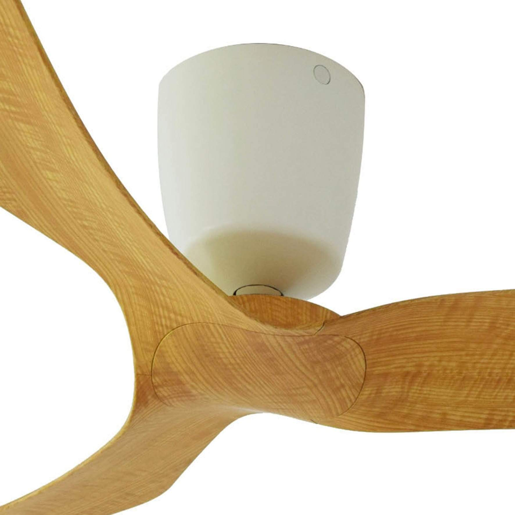 Indoor Fans FR Ceiling Fan - Light Woodgrain Lighting Shops