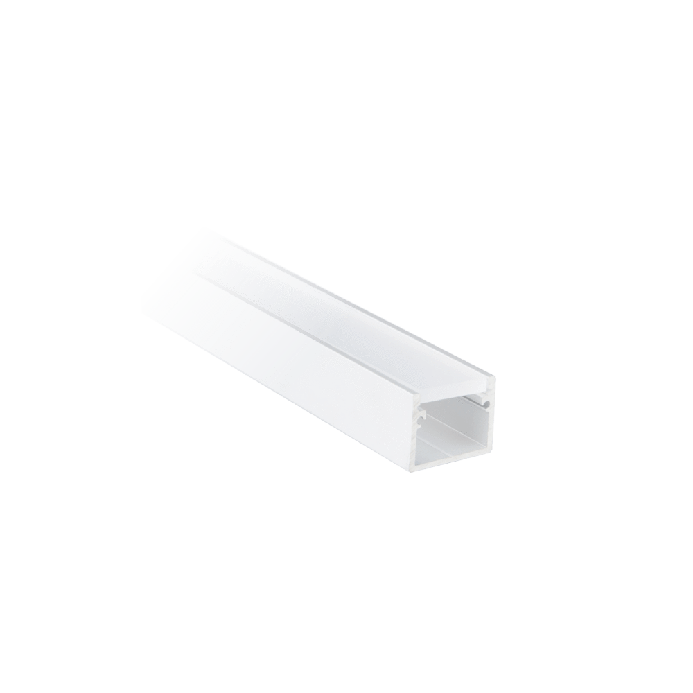Profiles Glide Extrusion GS19 (Surface Mounted) Profiles Corner Profile - HV9691-1616 lighting shops lighting stores LED lights lighting designer