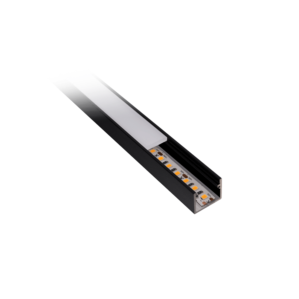 Profiles Glide Extrusion GS19 (Surface Mounted)