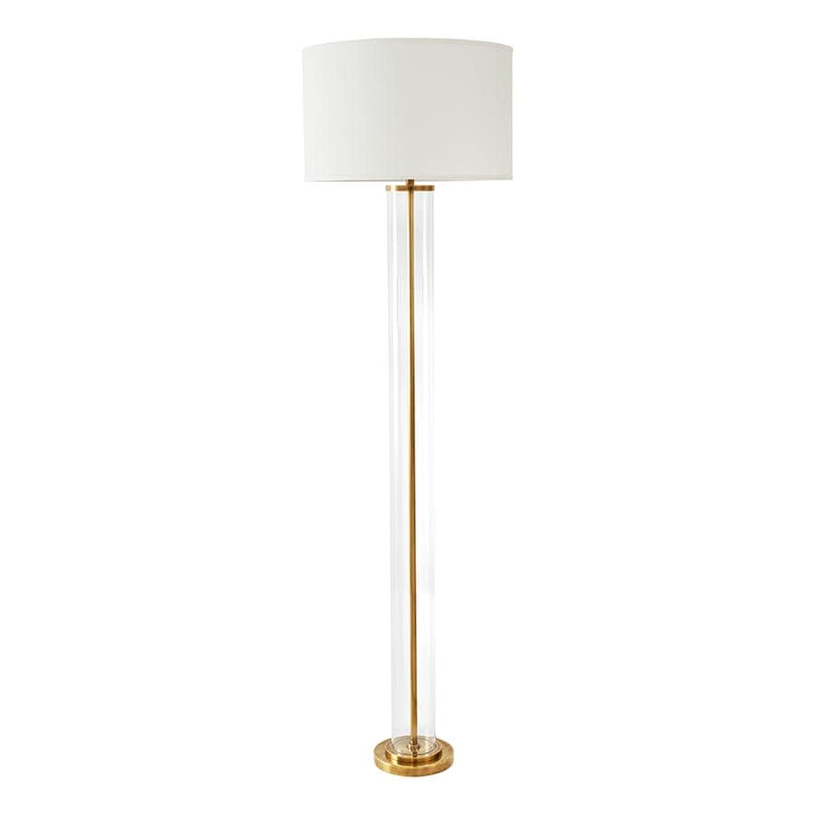 Floor Lamps Hudson Glass Floor Lamp