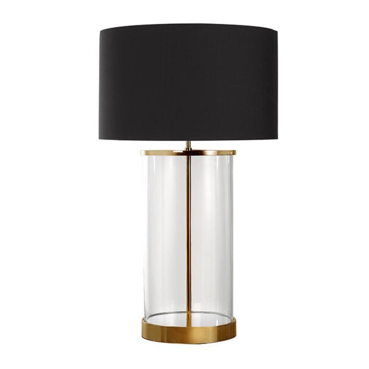 Table Lamps Hudson Glass Table Lamp
