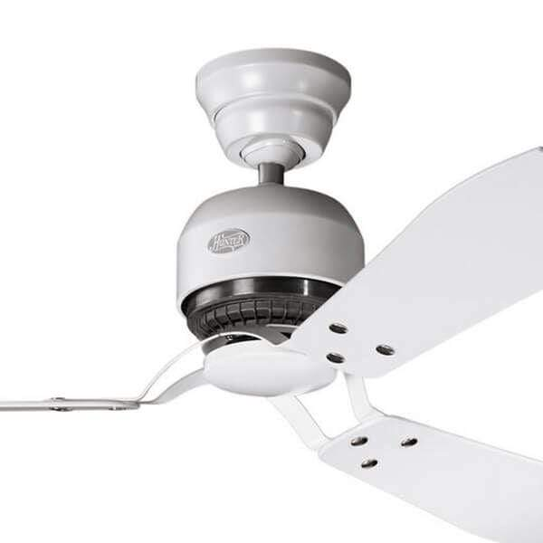 Indoor Fans Industrie II Ceiling Fan - Chalk White Lighting Stores