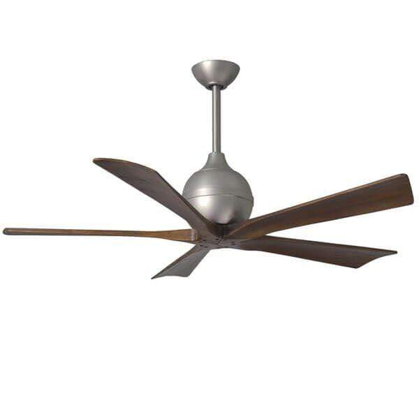 Outdoor Fans Irene 5 Ceiling Fan - Brushed Nickel