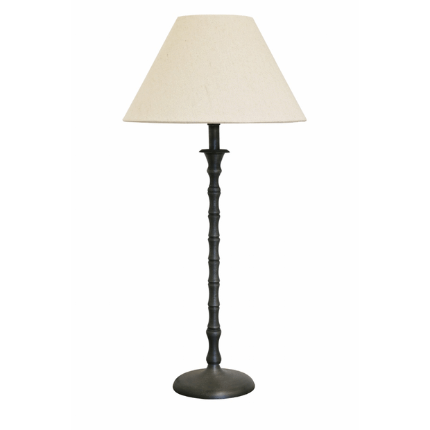 Table Lamps Lamp Base in Brushed Grey Antique Finish