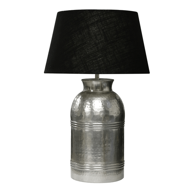 Table Lamps Lamp Base in Silver Finish