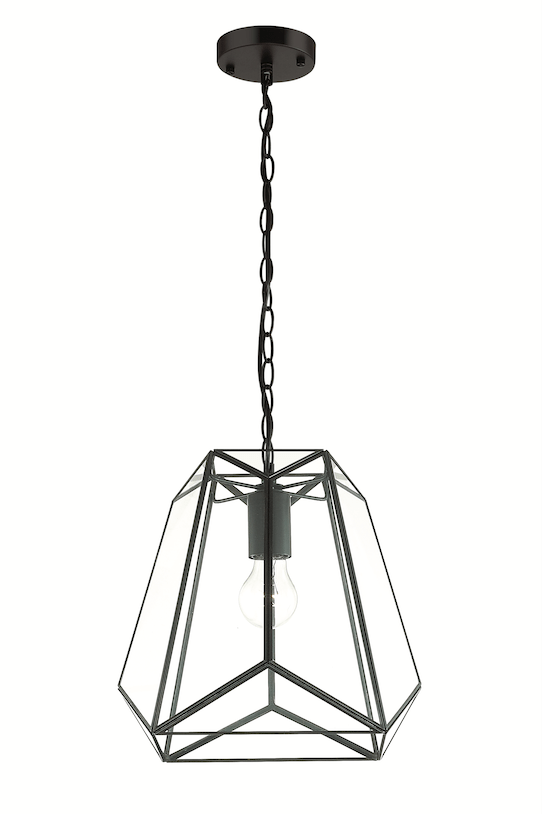 Interior Pendant Lantern Small Pendant with Bevelled Glass