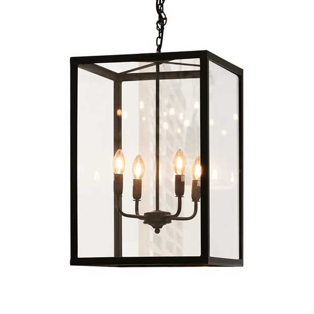 Interior Pendant Luberon Iron & Glass Lantern