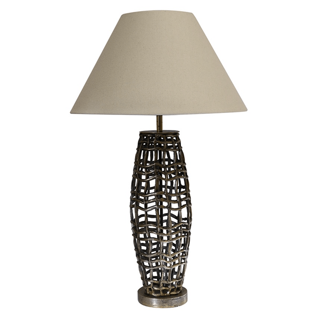 Table Lamps Metal Weave Lamp