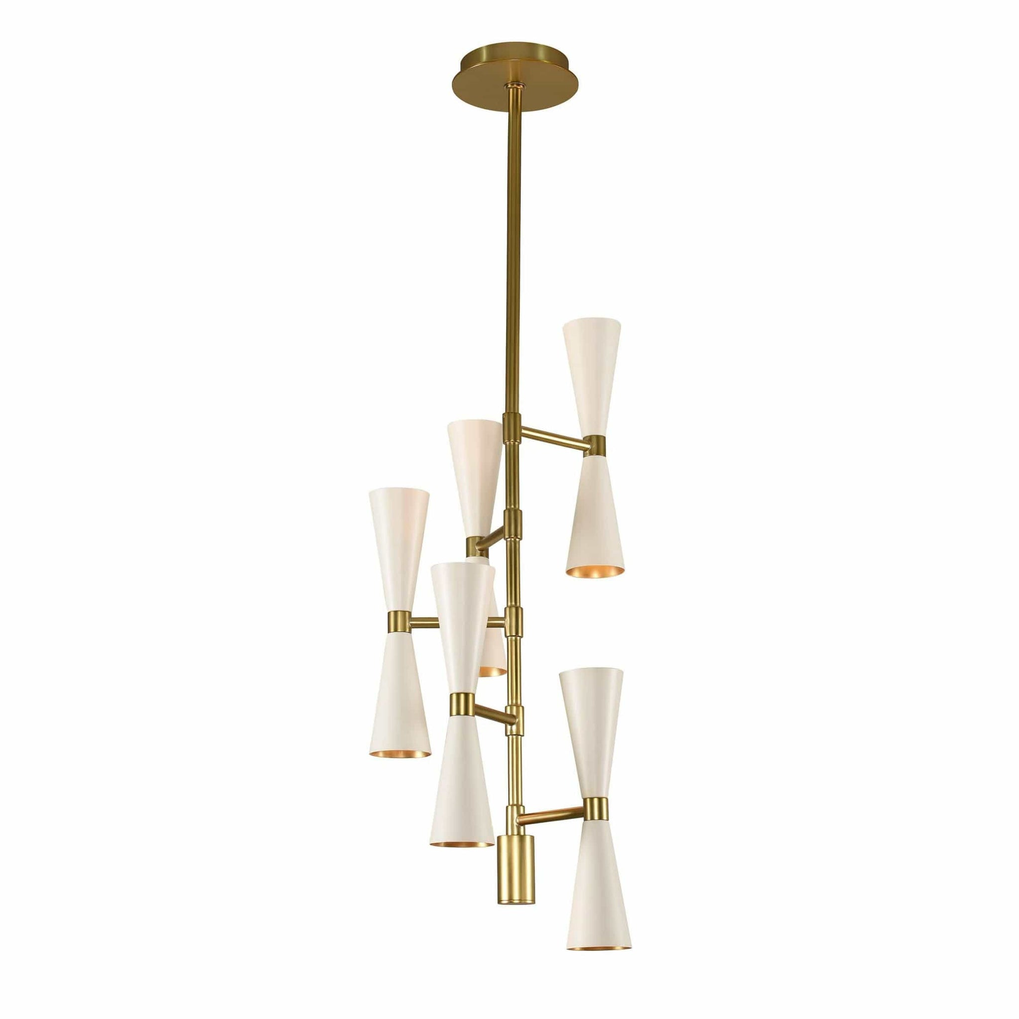 Interior Pendant Milo 10 Light Foyer Chandelier
