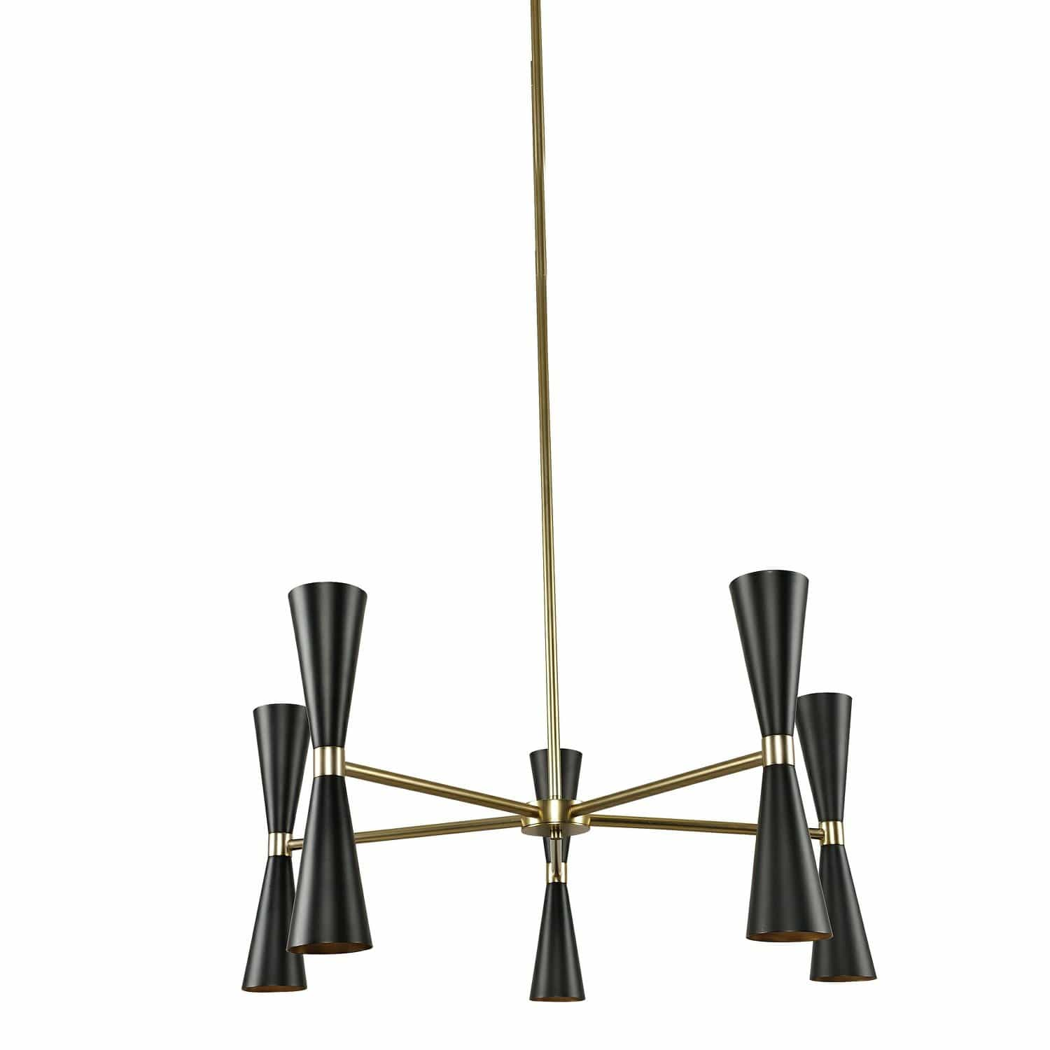 Interior Pendant Milo 5 Arm Chandelier