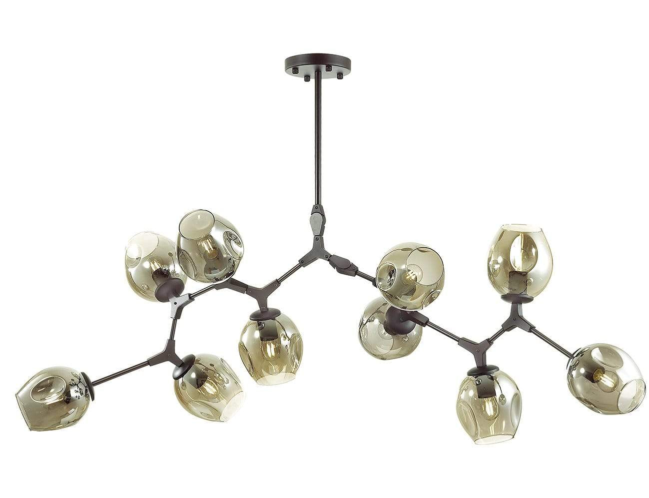 Interior Pendant Module Style 10 Light Adjustable Pendant